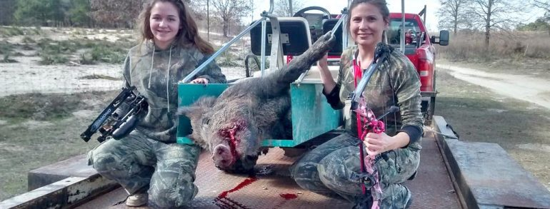 Girls Hog Hunt